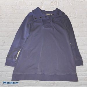 Soft Surroundings vintage wash pullover size small